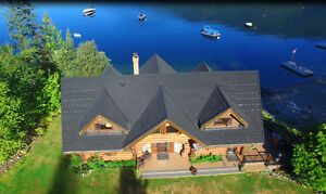Eagle Bay - 4,000 SqFt Waterfront Home on 1.8 Acres