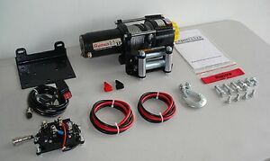 Runva 2500lb ATV Winch complete package, Amazing Christmas Gift!