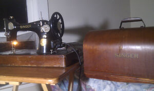 Antique electric Singer Sewing Machine $100 OBO Peterborough Peterborough Area image 9