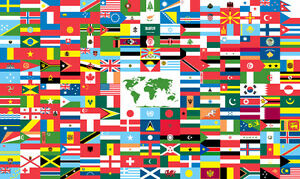 NEW FLAGS FROM ALL OVER THE WORLD AND COUNTRIES West Island Greater Montréal image 1