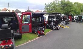 2010 Vauxhall Combo Tour Diesel Automatic Wheelchair Accessible Vehicle
