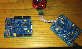 Arduino-compatible boards, with more powerful CPU