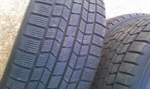 275/55R20 Set of 2 Dunlop Used Free Inst.&Bal.75%Tread Left