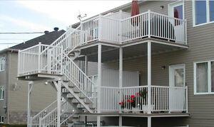 Fabrication rampe , escalier , balcon , tourelle en aluminium