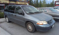 2000 Ford Windstar Minivan with extra Winter Tires $700 ONO