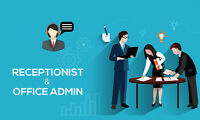 Looking For Part-Time Admin/Reception Position