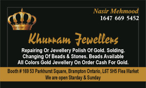 repair and polish any type of jewellery