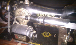 Antique electric Singer Sewing Machine $100 OBO Peterborough Peterborough Area image 3