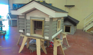 Fully insulated pet house.