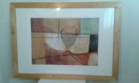 Large frame picture