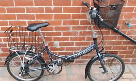 Raleigh Evo7 foldable bike