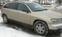 2004 Chrysler Pacifica Touring AWD.