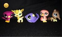 Littlest pet shop petshops exotic animals
