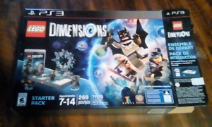 PS3 LEGO DIMENSIONS WITH EXTRAS