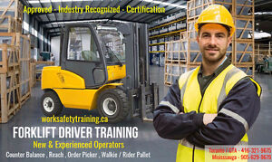 Forklift Training + Certification (Licence) + Jobs from only $75 Peterborough Peterborough Area image 6