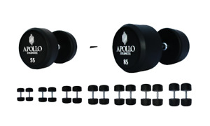 Apollo Strength 55-85lb Dumbbell Set (white) for Sale (FREE Del)