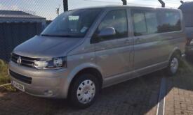 2014/14 Volkswagen Transporter Shuttle 2.0TD ( 140PS ) LWB Mini Bus T30 SE