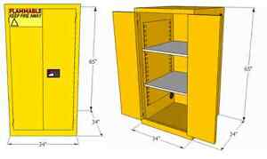 Flammable Safety Cabinet - HUGE STOCK Kitchener / Waterloo Kitchener Area image 6