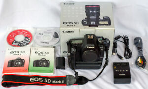 Canon 5D Mark II body only with Canon BG-E6 battery grip 49,521