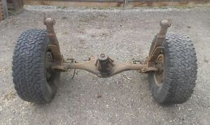 1980 Toyota 4wd rear axle with leaf springs