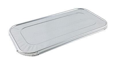 Aluminum Foil Lid For Third-size 13 Steam Table Pan 100pk - Disposable Covers