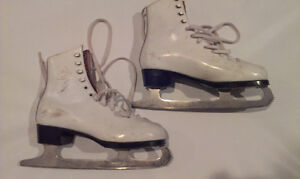 Girl's Figure Skates by Daoust (Size 3)