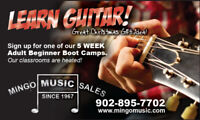 Adults: Learn to play guitar!