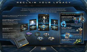 Starcraft 2 Legacy of the Void Collector's edition SEALED Windsor Region Ontario image 3