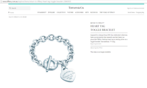Tiffany & Co Heart toggle bracelet Wavell Heights Brisbane North East Preview
