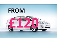 PCO...CAR...HIRE...PCO...CAR...RENTAL***PCO***TOYOTA***PRIUS***RENTAL BEST PRICES FROM £120