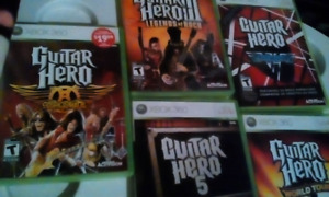 Games, All 5 for 25$