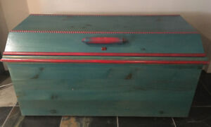 ***FOR SALE: Wood Chest