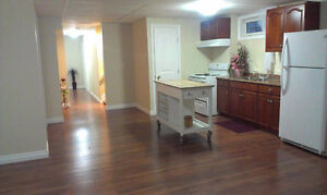 Two Bedroom Basement Suite Plus Den with Lots Of Extra Storage.