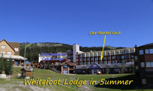Furnished Studio Nice view Whitefoot Lodge Big White Ski Resort