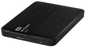 WD 1TB USB 3 EXTERNAL COMPUTER HARD DRIVE