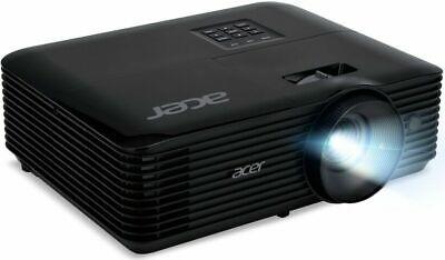 NEW ACER  X138WH DLP 3D PROJECTOR HDMI BLACK