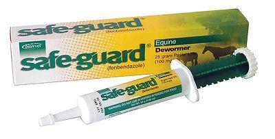 Safe-Guard Equine Paste 10% Fenbendazole Horse Wormer 1000 lbs/syringe