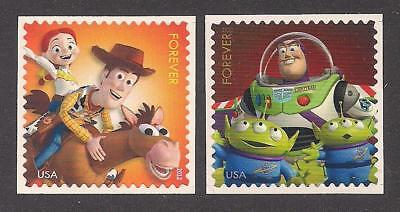 DISNEY / PIXAR - TOY STORY - SET OF 2 U.S. POSTAGE STAMPS - MINT CONDITION