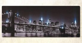 *** new *** light up New York canvas