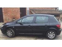 Peugeot 307 2.0 HDI MOT to August 2018 Spares / Repairs