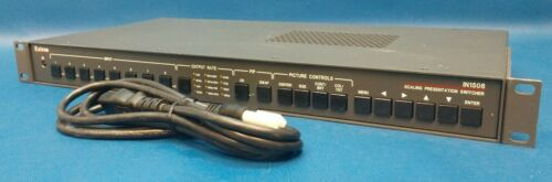 Extron IN1508 Eight Input Scaling Presentation Switcher with PIP, Tested.