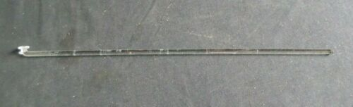 "Button Type 20"" Polished Glass Stirring Shaft Bar, 508mm x 8mm"