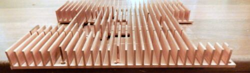 1-  SOLID COPPER HEAT SINK  **Hard to Find**