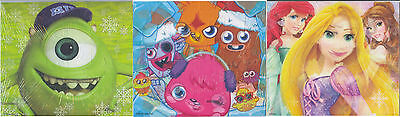 200 Jigsaws Monsters University Disney Princess Moshi (Party Bag Christmas)