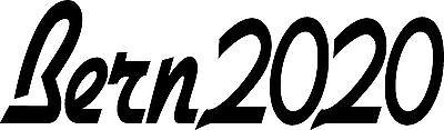 Bern2020 - Hillary Clinton President - Bumper Sticker Decal 8.5x2.5 white vinyl