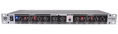 Rockville RX230 2 Way Stereo / 3 Way Mono Crossover with XLR Input and Output