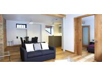 Spacious, modern 2bed/2bath apartment in the heart of Shoredich*2 months min stay*Fully furnished