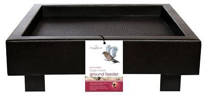 Metal Platform Tray Ground Bird Animal Feeder 30x30x10 cm High Quality