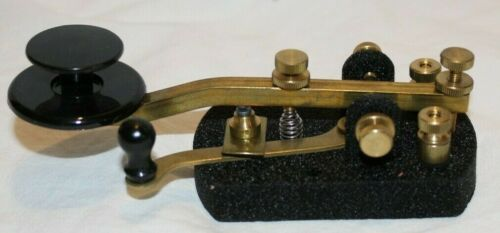 Vintage Wm M Nye Co Inc Telegraph Key 114-320-003 NYE Viking NEW
