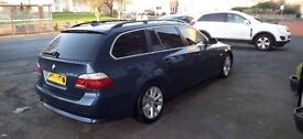 BMW 535D SE Touring, FSH, Alloys, I-Drive, Leather